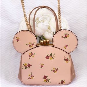Coach Bags - Disney x Coach Minnie Mouse Kisslock Bag